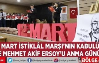 12 Mart İstiklâl Marşı'nın kabulü ve Mehmet...