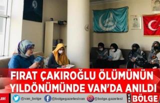 Fırat Çakıroğlu ölümünün yıldönümünde...