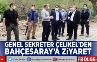 Genel Sekreter Çelikel'den Bahçesaray'a...