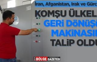 Van'daki İranlı girişimciler çöpten motorin elde...