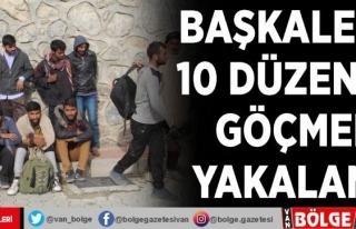 Başkale'de 10 düzensiz göçmen yakalandı