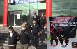 Van'da terör operasyonu: 3 gözaltı...