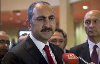 Adalet Bakanı Gül: Bu bir operasyon, savaş iki...