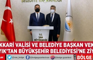 Hakkari Valisi ve Belediye Başkan Vekili Akbıyık'tan...