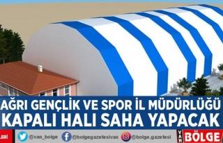 Ağrı Gençlik ve Spor İl Müdürlüğü kapalı...