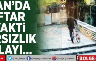 Van'da iftar vakti hırsızlık olayı…