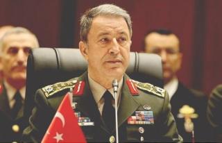 Milli Savunma Bakanı Akar ve komutanlar Hatay'da