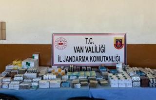 Başkale'de kaçak ilaç ele geçirildi