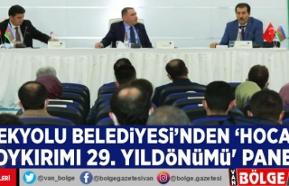 İpekyolu Belediyesi'nden 'Hocalı Soykırımı...
