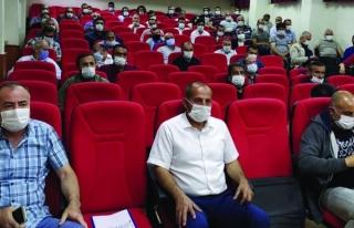 İpekyolu'ndaki okul müdürleri sınav öncesi bilgilendirildi