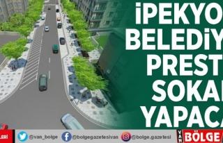 İpekyolu Belediyesi prestij sokak yapacak