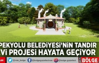 İpekyolu Belediyesi'nin Tandır Evi Projesi...