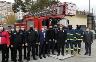 Van'da banka personeline yangın eğitimi…