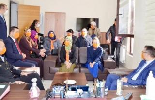 Van'da, kadına yönelik şiddetle mücadele toplantısı…