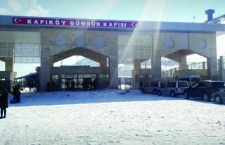 Kapıköy'den yolcu giriş çıkışları yüzde 65...