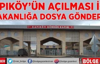 Kapıköy'ün açılması için 8 bakanlığa...