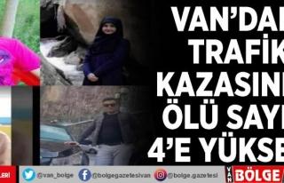 Van'daki trafik kazasında ölü sayısı 4'e...