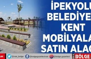 İpekyolu Belediyesi kent mobilyaları satın alacak