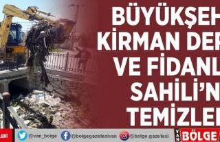Büyükşehir Kirman Deresi ve Fidanlık Sahili'ni...