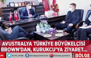 Avustralya Türkiye Büyükelçisi Brown'dan,...