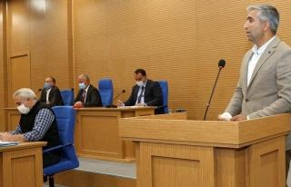 Tuşba Belediyesi'nde Ak Parti'li meclis üyelerinden...