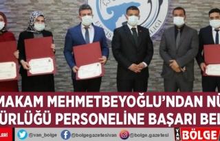 Kaymakam Mehmetbeyoğlu'ndan Nüfus Müdürlüğü...