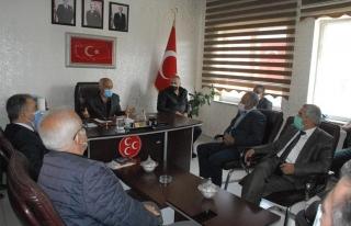 MHP yönetimi ilk toplantısını gerçekleştirdi