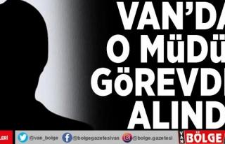 Van Kültür ve Turizm İl Müdürü Bilal Sönmez...