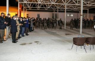 Van'daki PÖH timleri, dualarla Suriye'ye uğurlandı