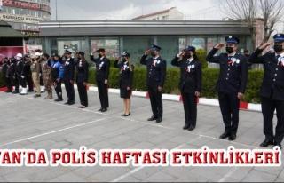 Van'da 10 Nisan Polis Haftası etkinlikleri...