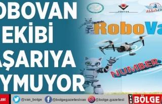 RoboVan ekibi başarıya doymuyor