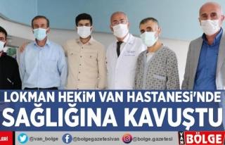 Lokman Hekim Van Hastanesi'nde sağlığına...