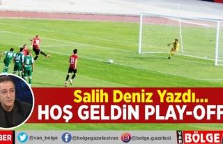 Hoş geldin play-off…