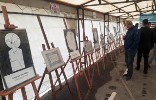Van'da Peygamber sevgisi tablolara yansıdı