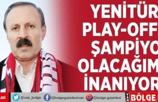 Yenitürk: Play-off'ta şampiyon olacağımıza...