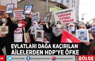 Evlatları dağa kaçırılan ailelerden HDP'ye...
