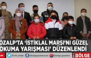 Özalp'ta 'İstiklal Marşı'nı Güzel...