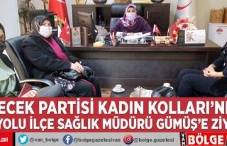 Gelecek Partisi Kadın Kolları'ndan İpekyolu...