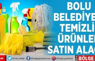 Bolu Belediyesi temizlik ürünleri satın alacak