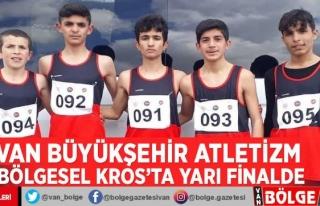 Van Büyükşehir Atletizm Bölgesel Kros'ta...