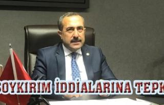 Milletvekili Arvas'tan soykırım iddialarına...