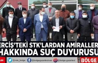 Erciş'teki STK'lardan amiraller hakkında...