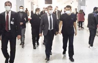 Müdür Sünnetçioğlu'ndan, Bölge Hastanesi'ne...