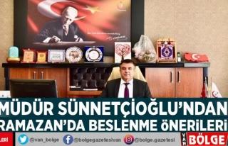 Müdür Sünnetçioğlu'ndan Ramazan'da...