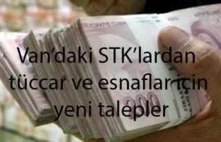 Van'daki STK'lar yeni taleplerde bulundu