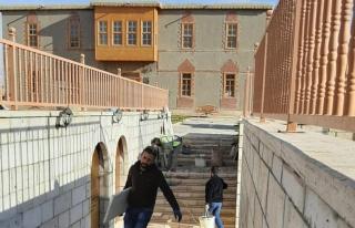 Tarihi Van Evleri çevresinde bakım ve onarım çalışması…