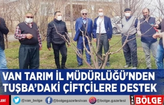 Van Tarım İl Müdürlüğü'nden Tuşba'daki...