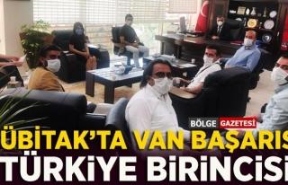 TÜBİTAK Türkiye birincisi Van oldu