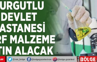 Turgutlu Devlet Hastanesi sarf malzeme satın alacak
