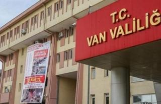 Van'da bazı eylem ve etkinlikler 15 gün yasaklandı